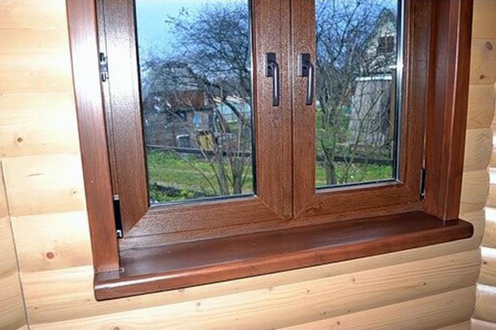 откосы на окна в деревянном доме фото стала одной